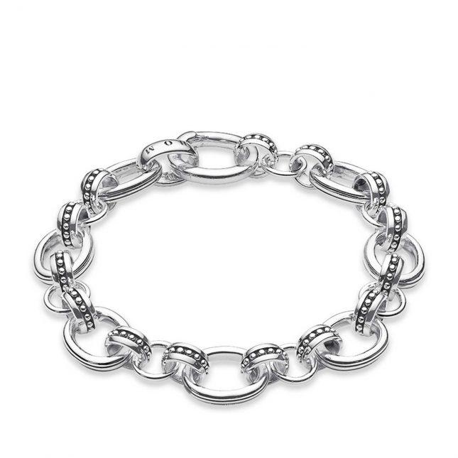 Thomas Sabo Bracelet 20.5cm 925 Sterling Silver A1041-001-12-M