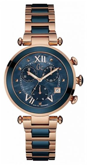 Gc Womens Gc Ladychic Rose Gold PVD Plated Y05009M7MF