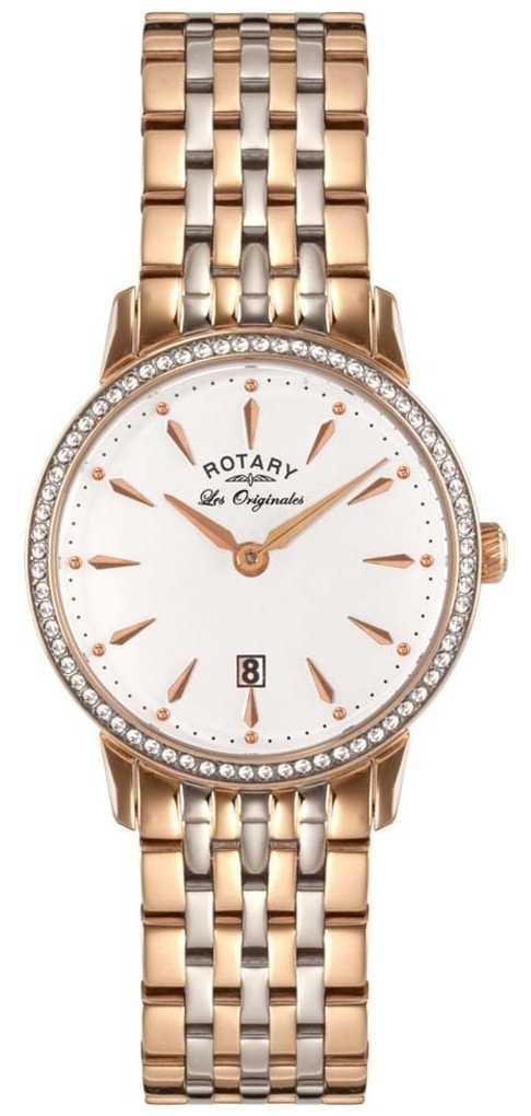 Rotary Womens Les Originales Two Tone White Dial LB90057/06