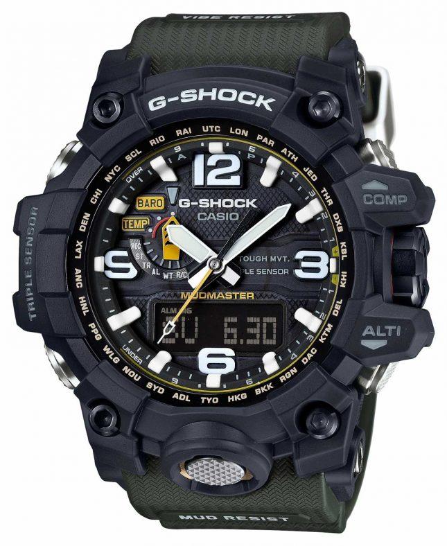 Casio Premium Mudmaster G-Shock Tough Solar RC GWG-1000-1A3ER