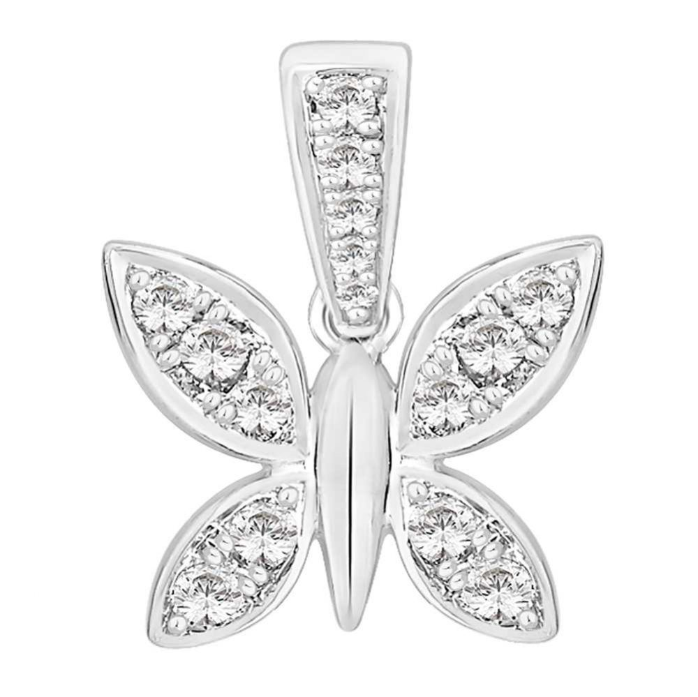 Perfection Crystals Butterfly Pendant (0.25ct) P5146-SK