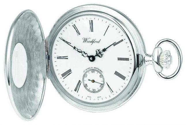Woodford | Half Hunter | Sterling Silver | Pocket Watch | 1005