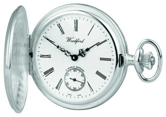 Woodford | Full Hunter | Sterling Silver | Pocket Watch | 1001
