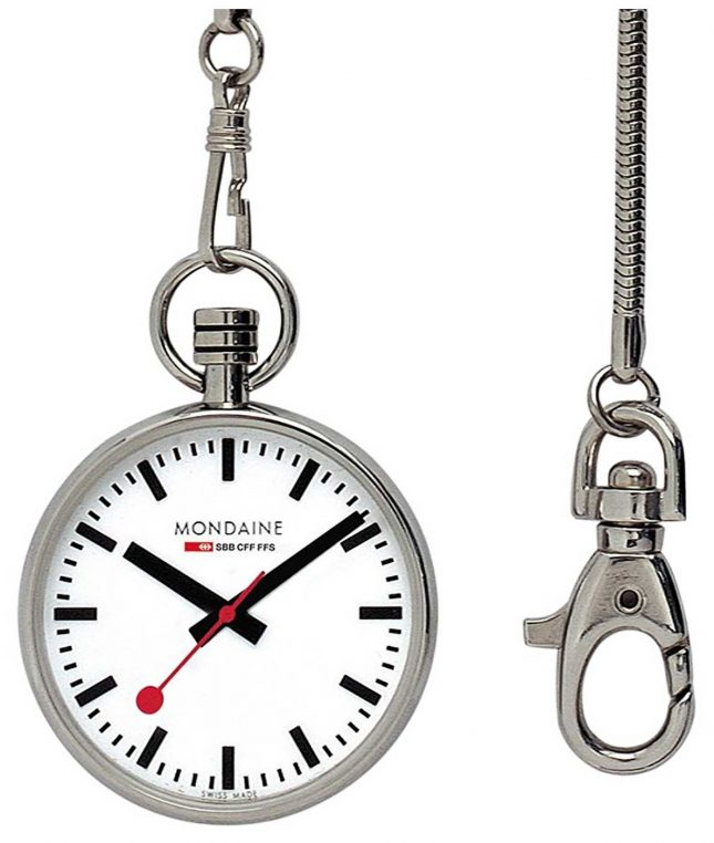 Mondaine Pocket Watch A660.30316.11SBB