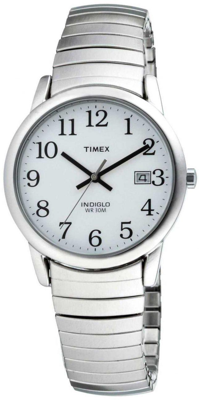 Timex Mens Heritage Easy Reader Expanding Bracelet T2H451