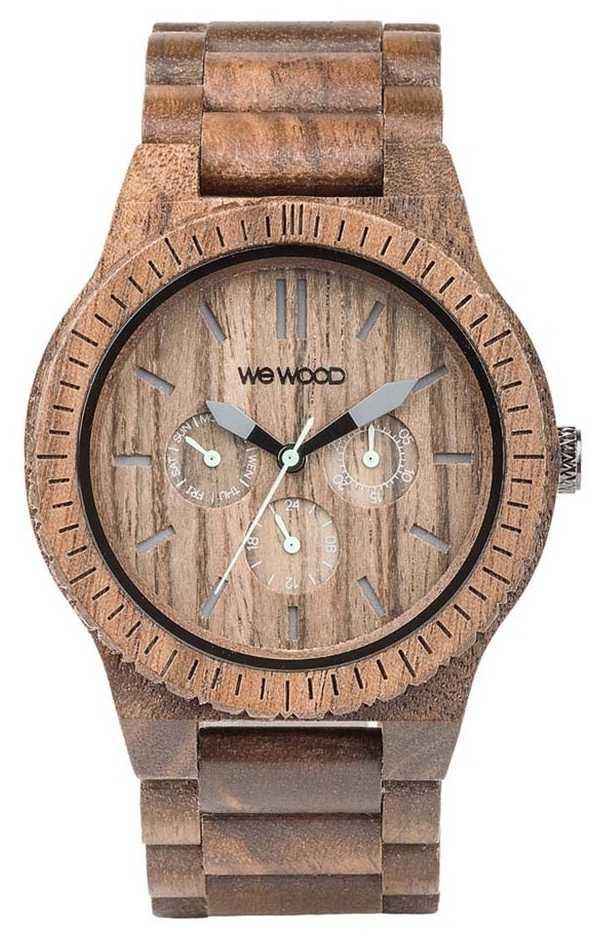WeWood Mens Kappa Nut Wooden Brown Strap 70315700