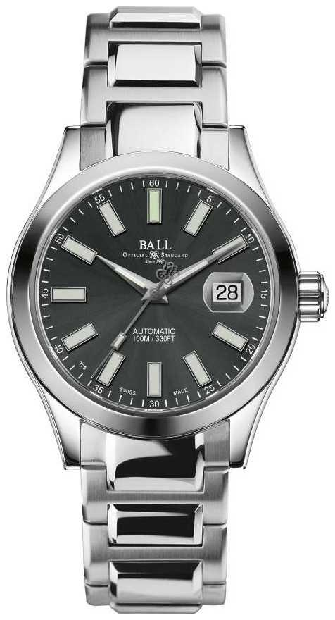 Ball Watch Company Men's Engineer II Marvelight Automatic Stainless-steel Grey Dial Watch NM2026C-S6J-GY