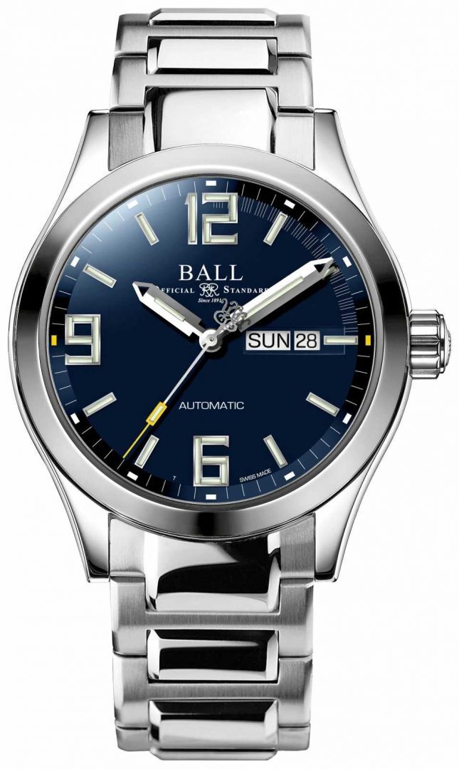 Ball Watch Company Engineer III Legend Automatic Blue Dial Day & Date Display NM2028C-S14A-BEGR