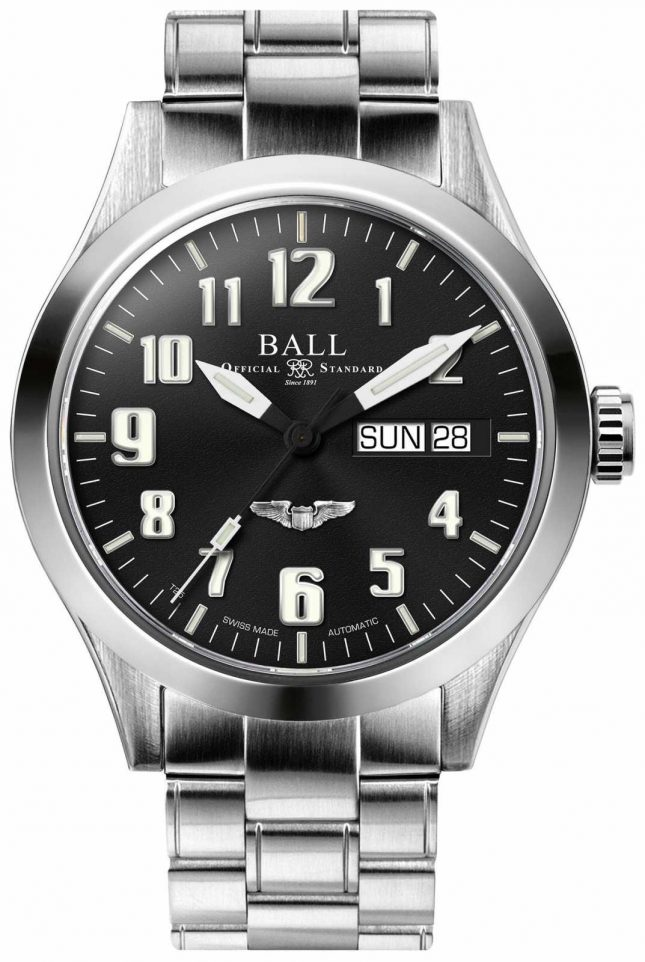 Ball Watch Company Engineer III Silver Star Automatic Black Dial Stainless NM2182C-S3J-BK