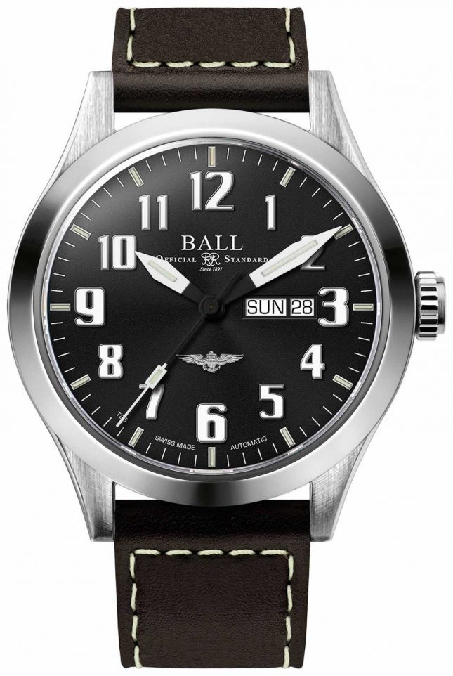 Ball Watch Company Engineer III Silver Star Black Dial Day & Date Display NM2180C-L2J-BK