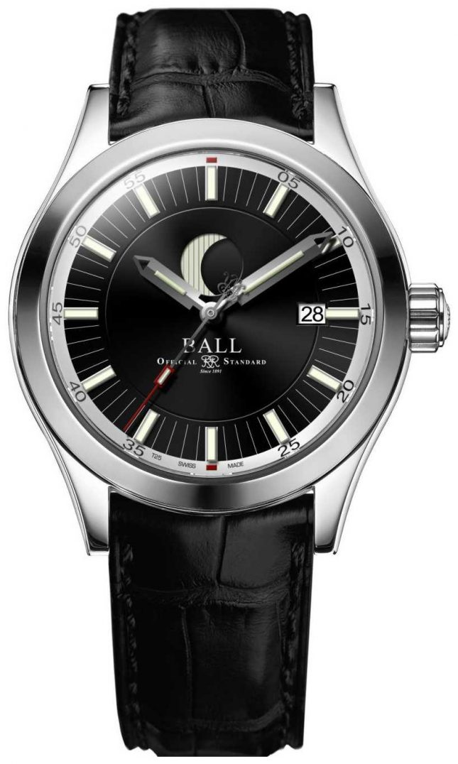 Ball Watch Company Engineer II Moon Phase Date Display Black Dial NM2282C-LLJ-BK