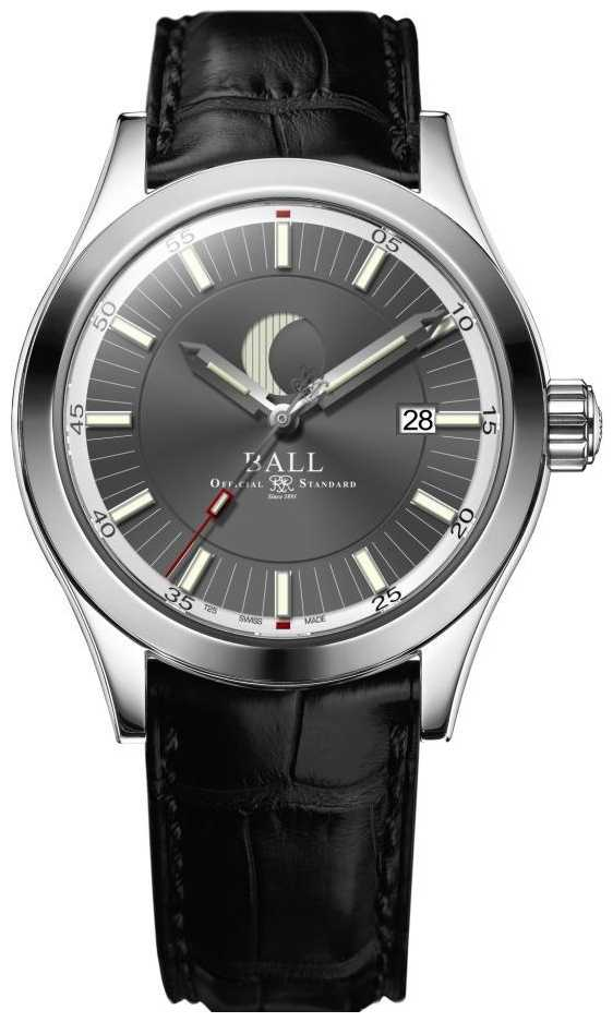 Ball Watch Company Engineer II Moon Phase Date Display Grey Dial NM2282C-LLJ-GY
