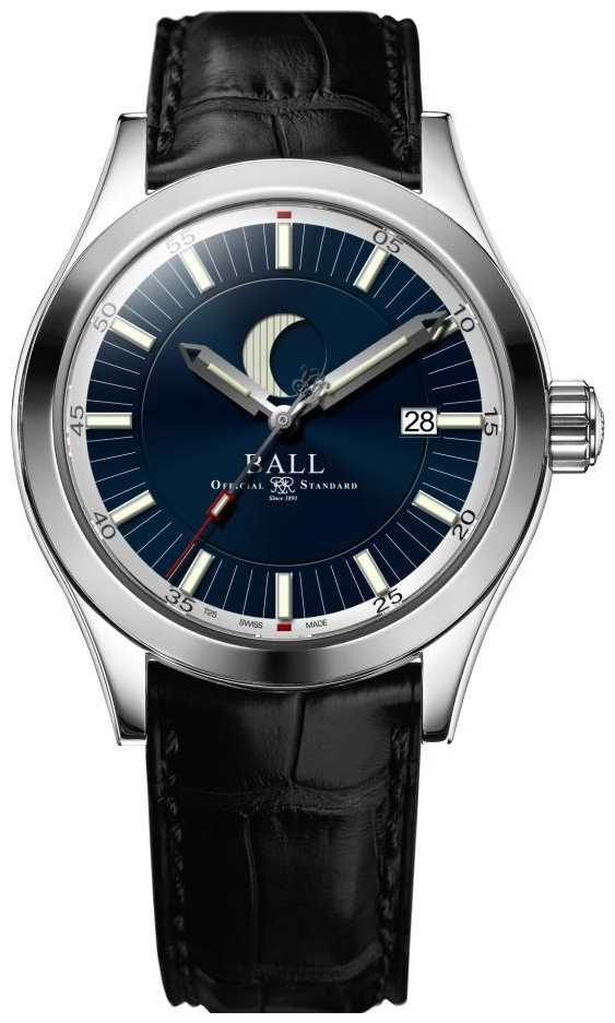 Ball Watch Company Engineer II Moon Phase Date Display Blue Dial NM2282C-LLJ-BE