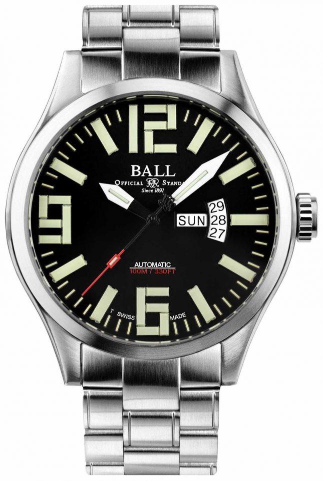 Ball Watch Company Engineer Master II Aviator Automatic Day & Date Display NM1080C-S14A-BK