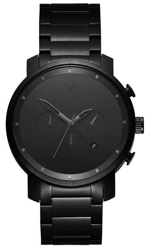 MVMT Chrono 45mm Black Link | Black PVD | Black Dial D-MC01BB