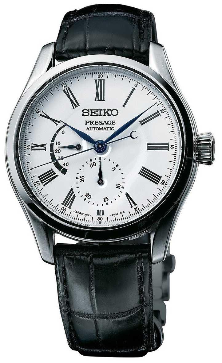 Seiko Presage Automatic Enamel Mens Multi Dial Watch SPB045J1