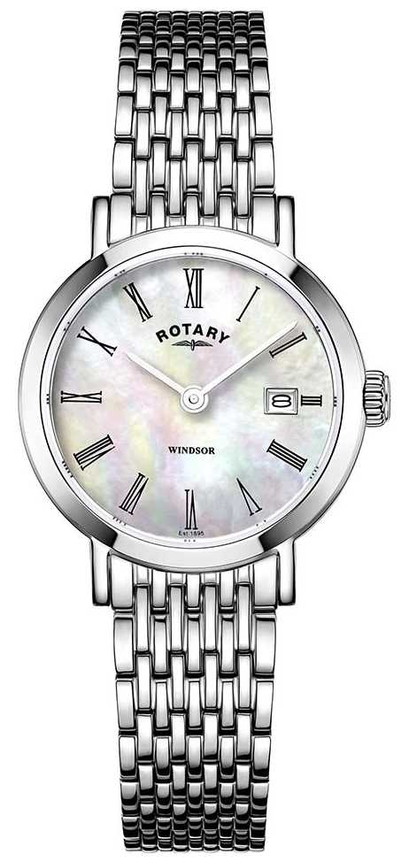 Rotary Womens Stainless Steel Bracelet Watch LB05300/39