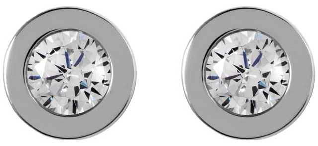 Radley Jewellery Fountain Road Silver Stone Stud Earrings RYJ1001
