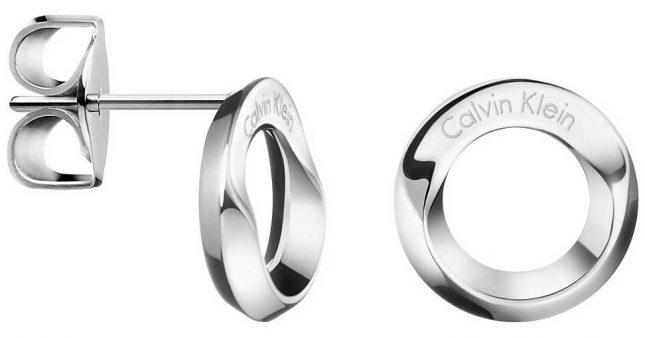 Calvin Klein Womens Beauty Stainless Steel Stud Earings KJ4NME000100