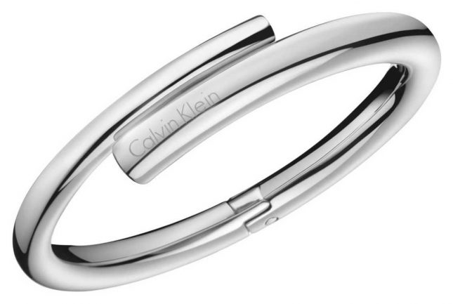 Calvin Klein Womens Scent Stainless Steel Bangle KJ5GMD00010S