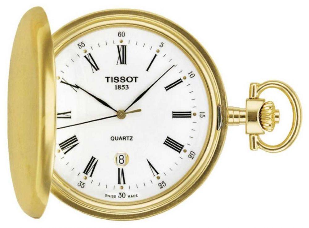 Tissot Gold Plated Savonette Pocket Watch Swiss Made T83455313