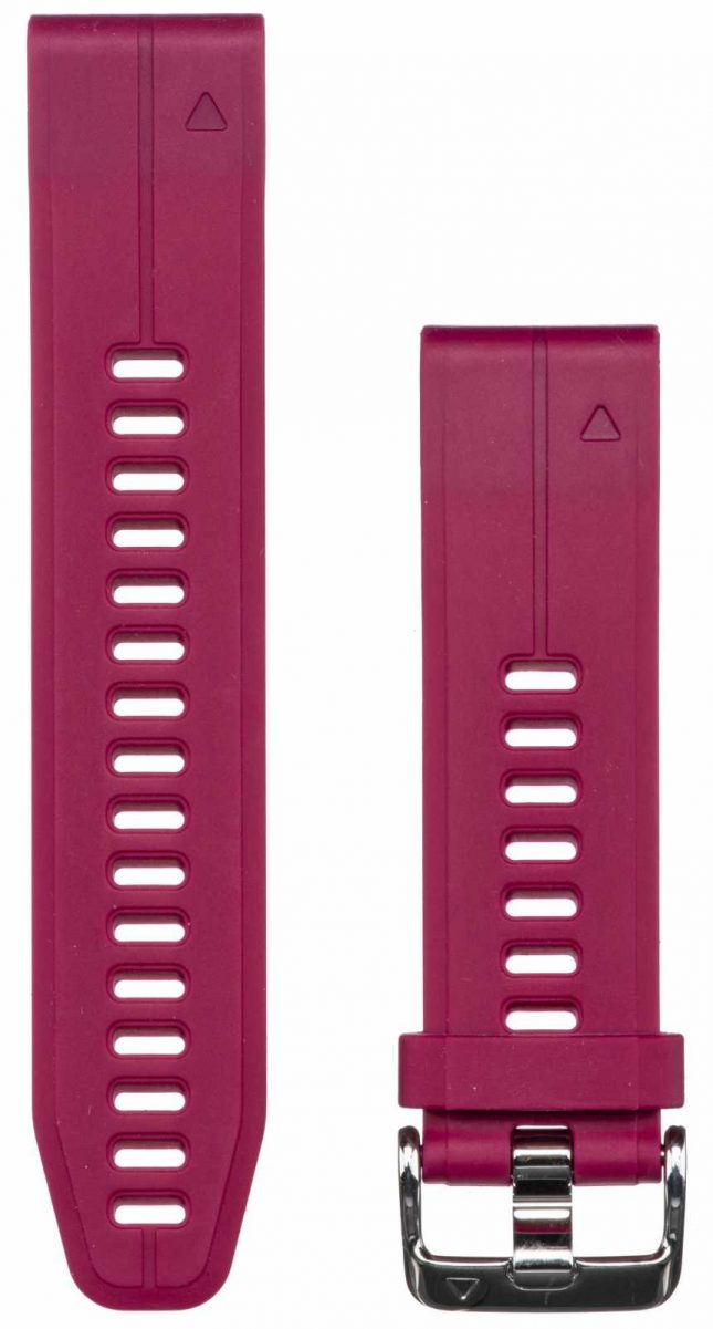 Garmin Purple Rubber Strap Only QuickFit 20mm 010-12739-05