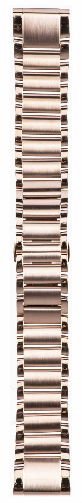Garmin Rose Gold Tone Stainless Steel Strap Only QuickFit 20mm 010-12739-02