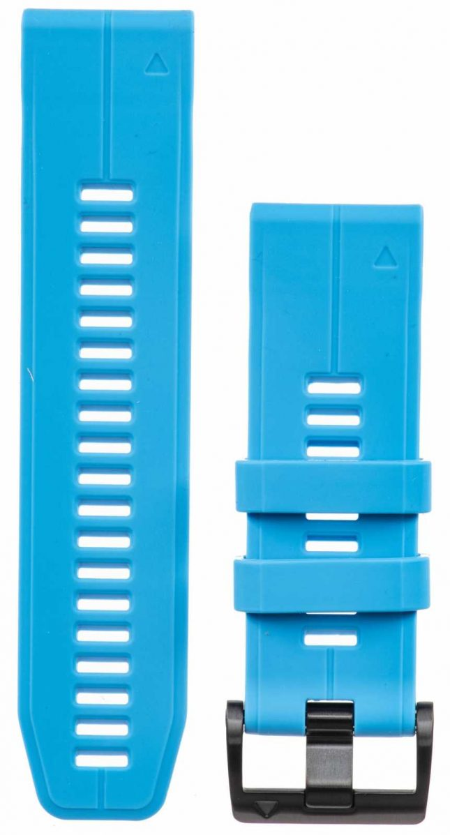 Garmin Blue Rubber Strap Only QuickFit 26mm 010-12741-02