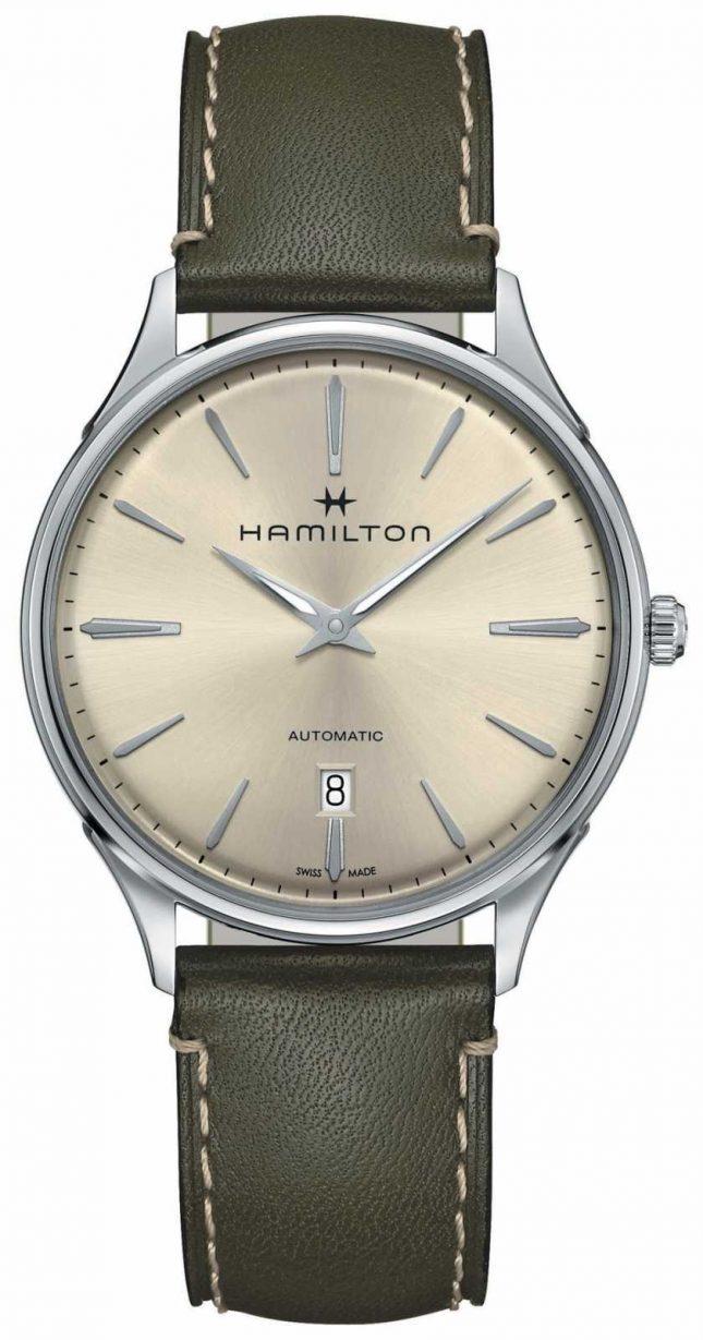 Hamilton Jazzmaster Thinline Automatic Olive Green H38525811