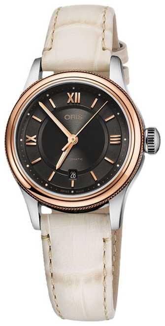ORIS Classic Date 28.5mm Ladies Watch 01 561 7718 4373-07 5 14 31