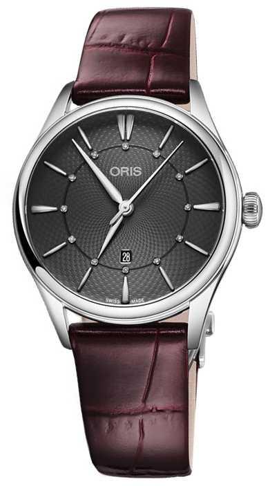 ORIS Artelier Date 33mm Ladies Watch 01 561 7724 4053-07 5 17 63FC