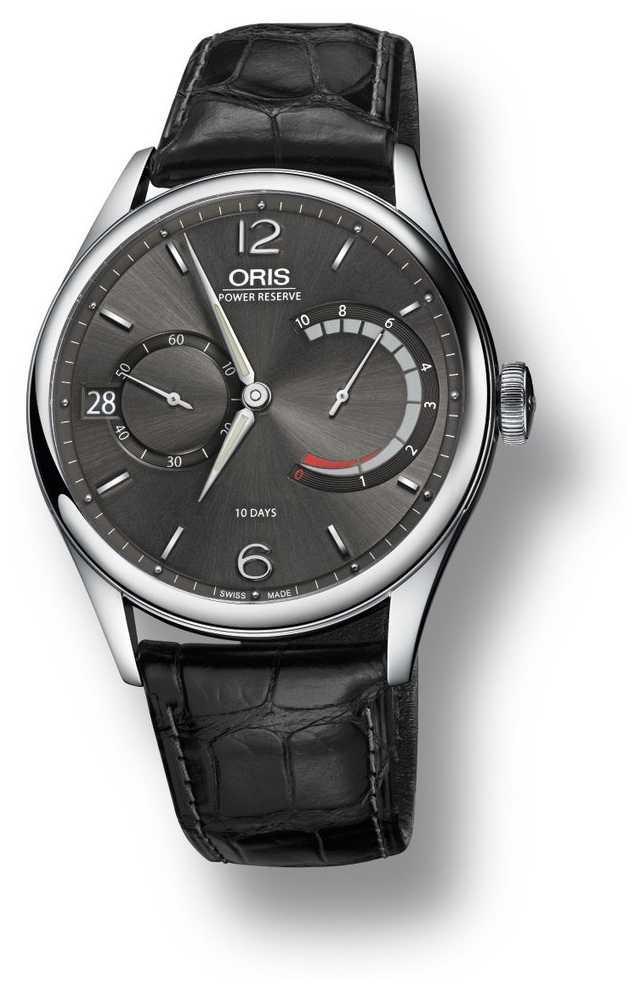 ORIS Artelier Calibre 111/4063 Black Leather Strap 01 111 7700 4063-set 1 23 73fc