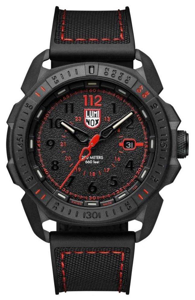 Luminox Men's ICE-SAR | Arctic 1000 Series | Black Red Dial | XL.1002