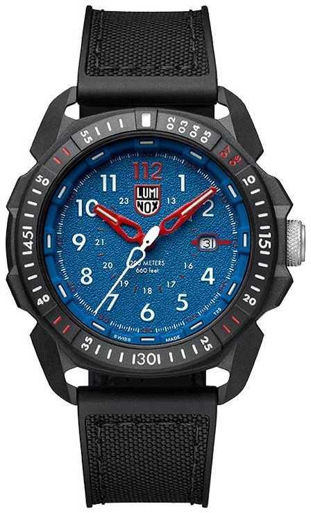 Luminox Men's ICE-SAR | Arctic 1000 Series | Blue Dial Black Strap XL.1003