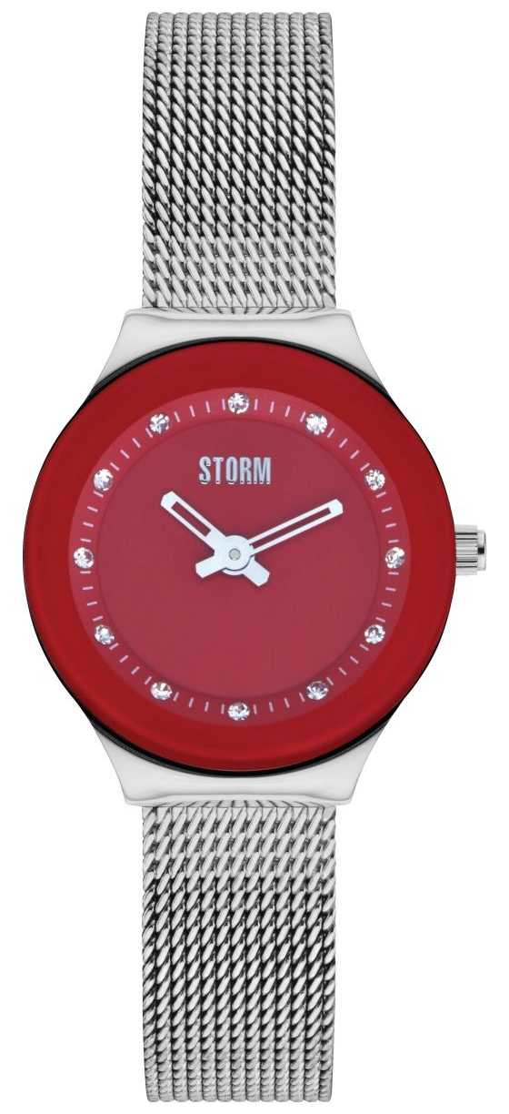 STORM | Arin Red Stainless Steel Watch | 47425/R