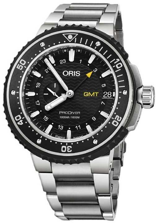 ORIS ProDiver GMT 49mm Mens Watch Titanium 01 748 7748 7154-07 8 26 74PEB