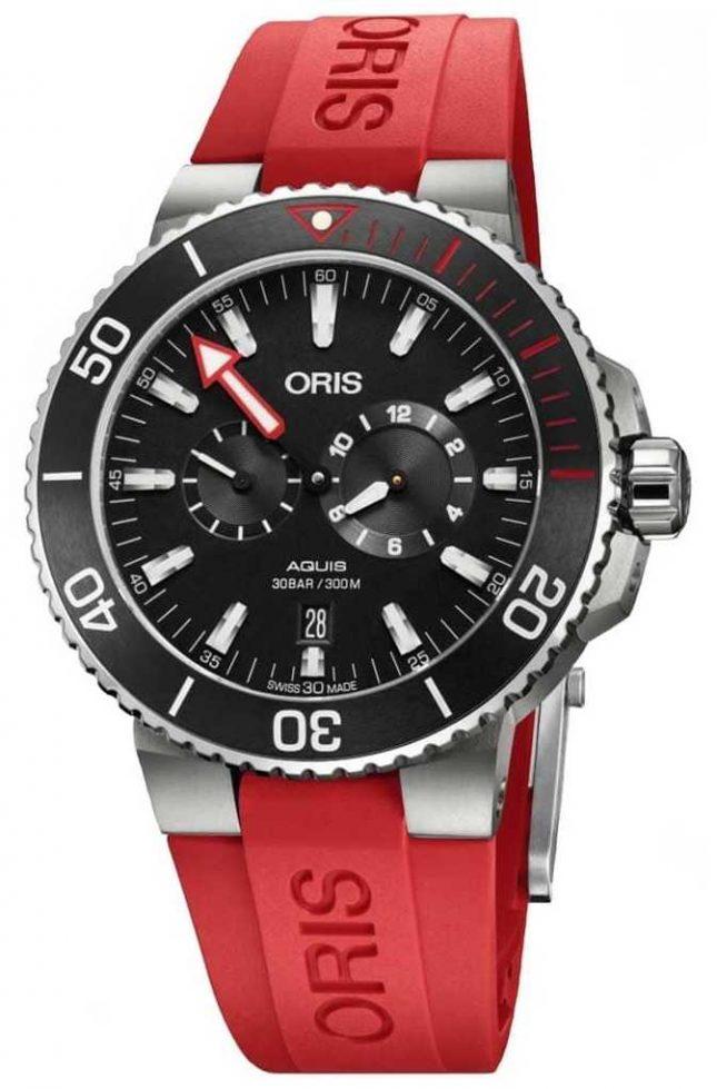ORIS Regulateur Der Meistertaucher Automatic Men's Watch 01 749 7734 7154-SET