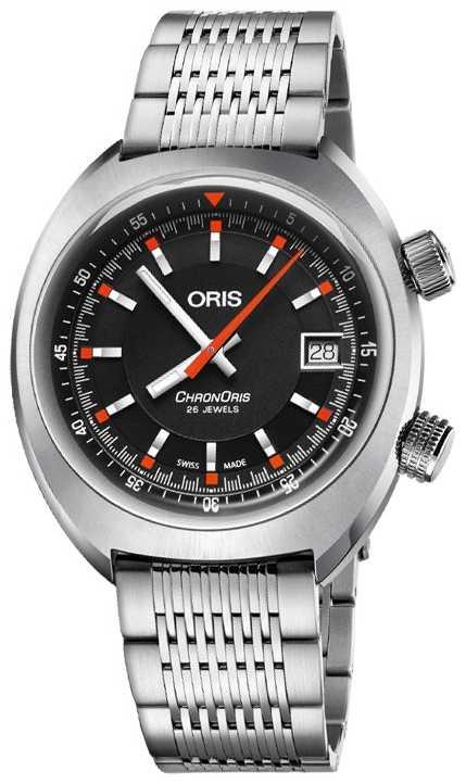 ORIS Chronoris Date 39mm Automatic Watch 01 733 7737 4054-07 8 19 01