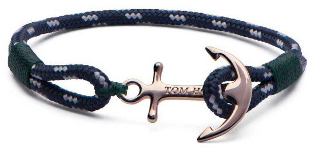 Tom Hope Solid Brass Anchor Mediterranean Medium Bracelet TM0072
