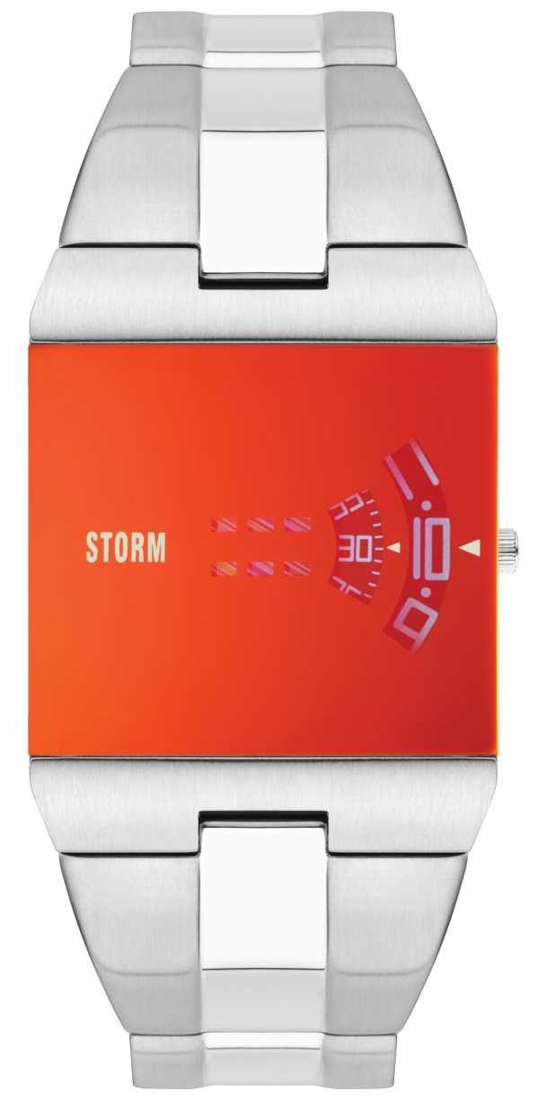STORM   New Remi Square Lazer Red Watch   47430/R