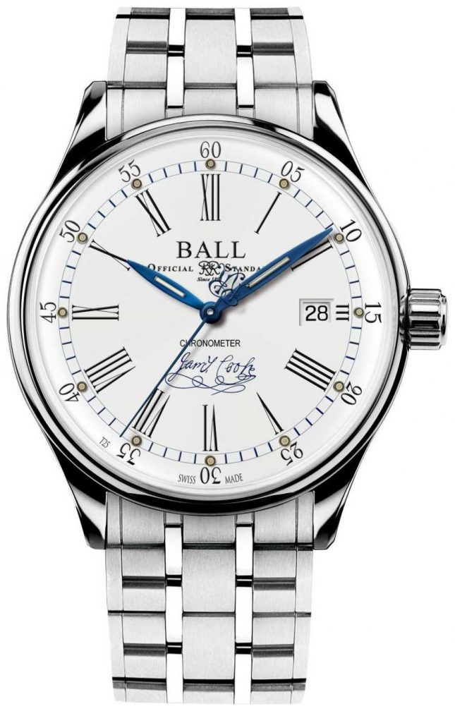 Ball Watch Company Trainmaster Endeavour Chronometer Limited Edition Bracelet NM3288D-S2CJ-WH