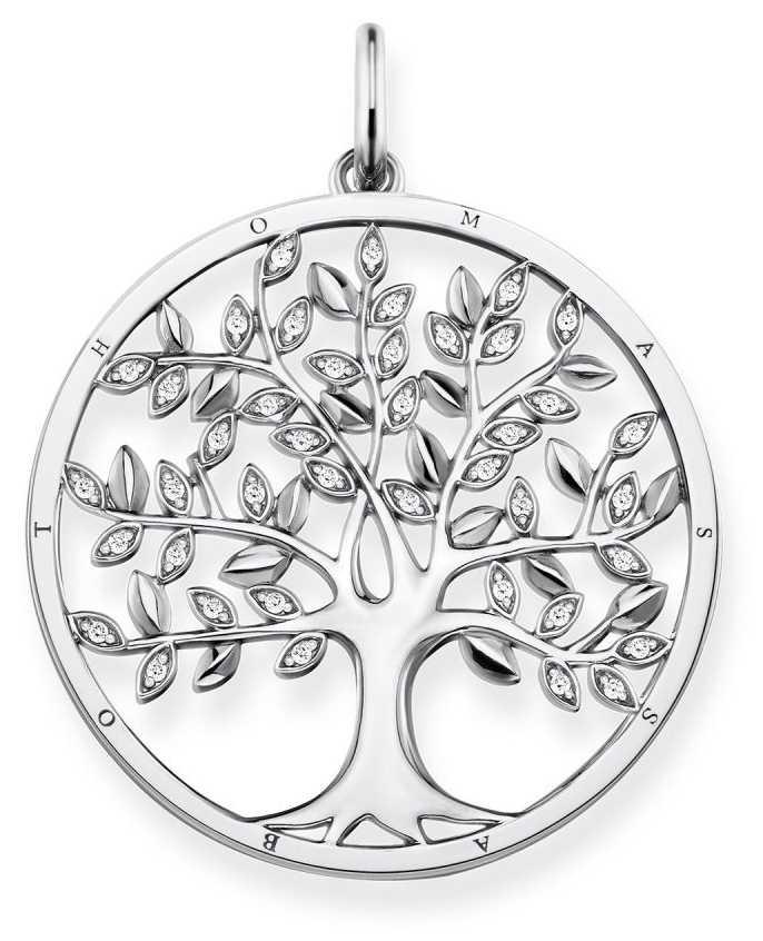 Thomas Sabo | Sterling Silver Tree Pendant | PE759-051-14