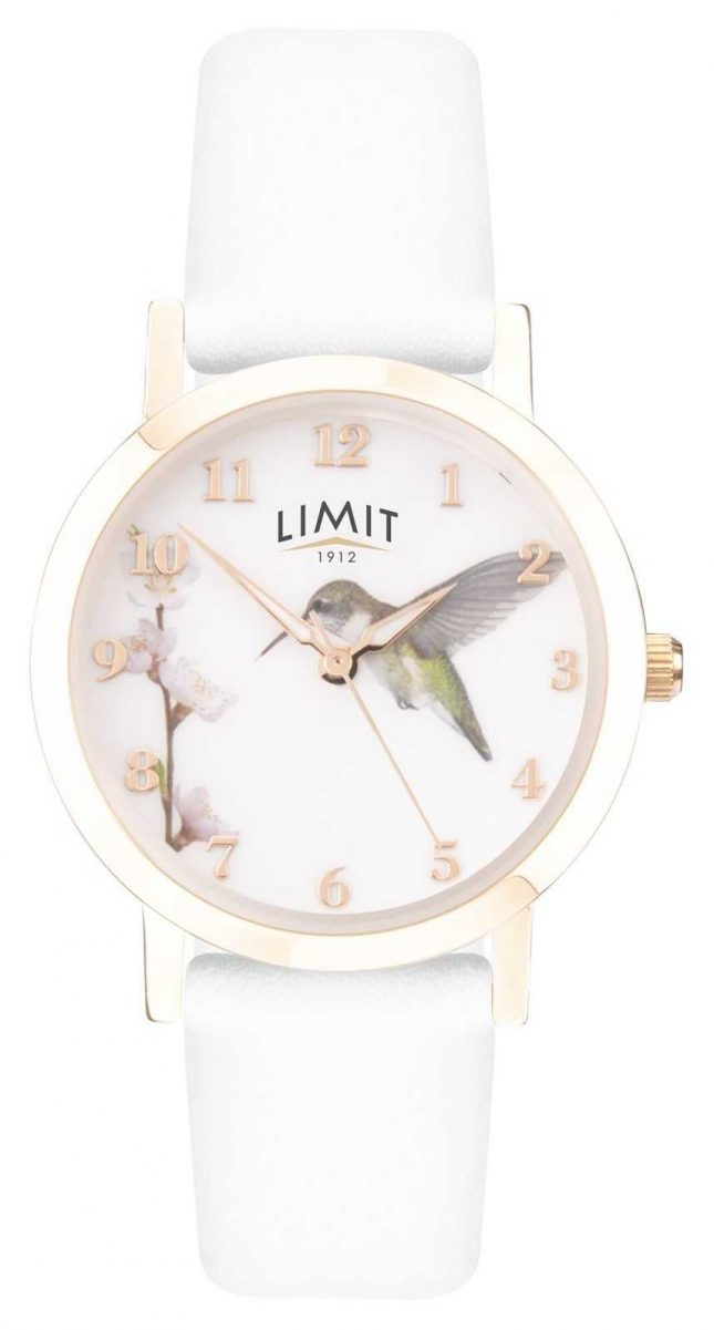 Limit | Ladies Watch Secret Garden | White Leather Strap | 60027.73