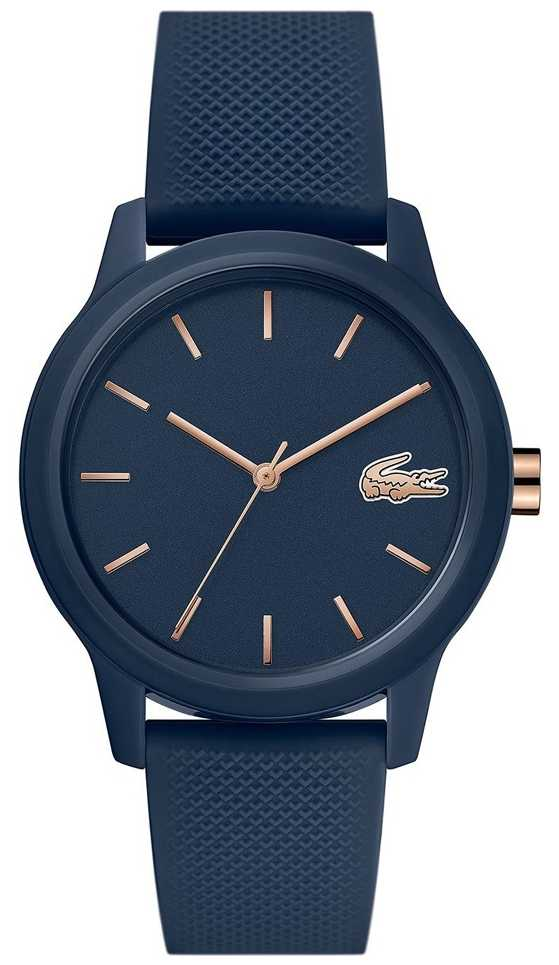 Lacoste 12.12 Womens | Navy Silicone Strap | Navy Dial | 2001067