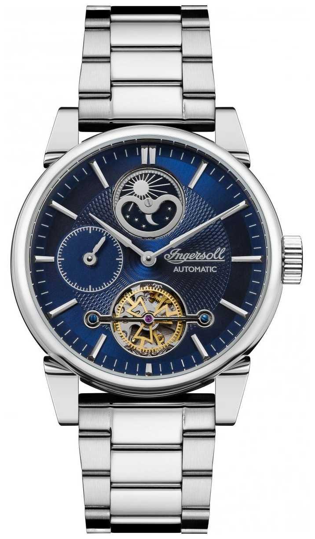 Ingersoll | Mens The Swing | Stainless Steel Bracelet | Blue Dial | I07501