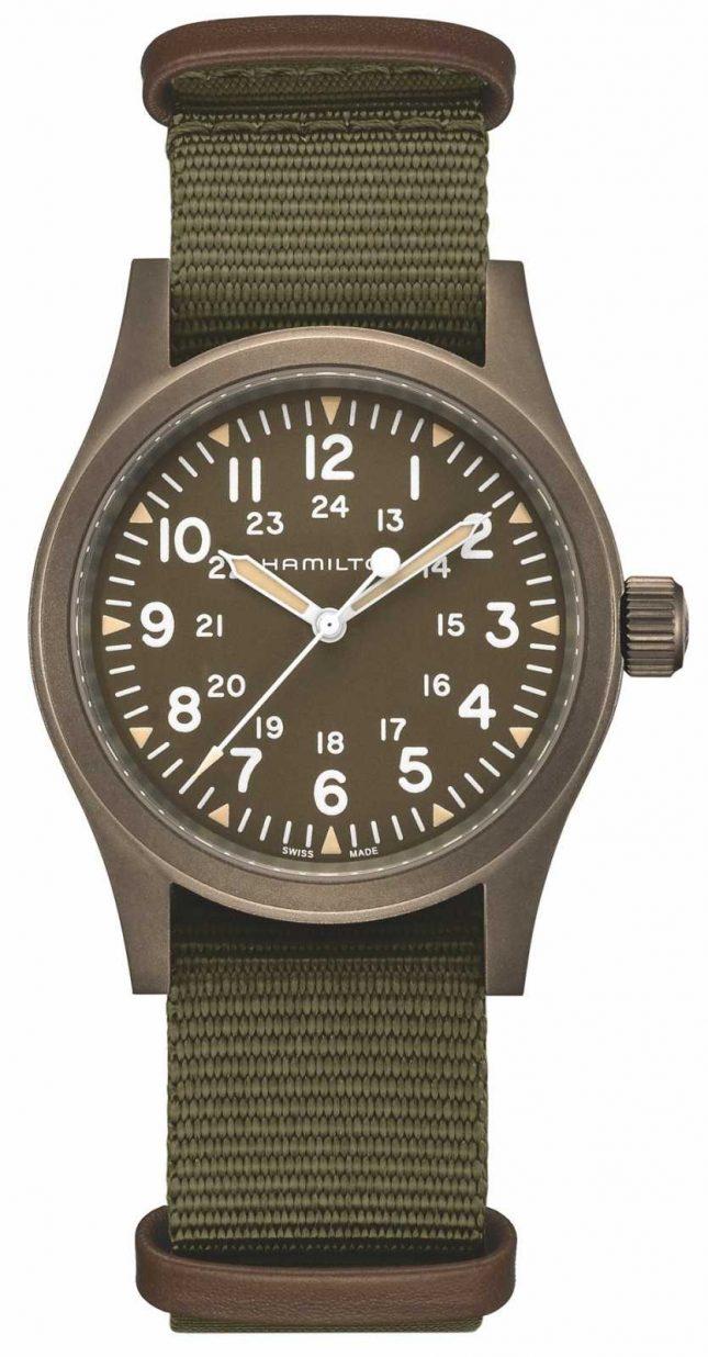 Hamilton | Khaki Field Mechanical | Brown Dial | H69449961