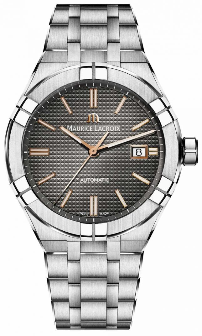 Maurice Lacroix EX DISPLAY Aikon Automatic Stainless Steel Anthracite Dial AI6008-SS002-331-1EX-DISPLAY