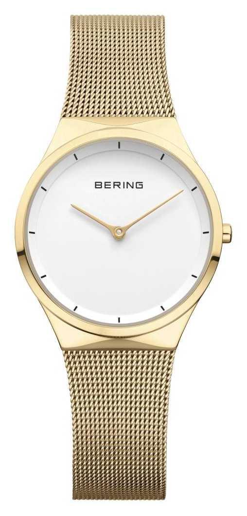 Bering   Womens Stainless Steel Rose Gold Mesh   12131-339