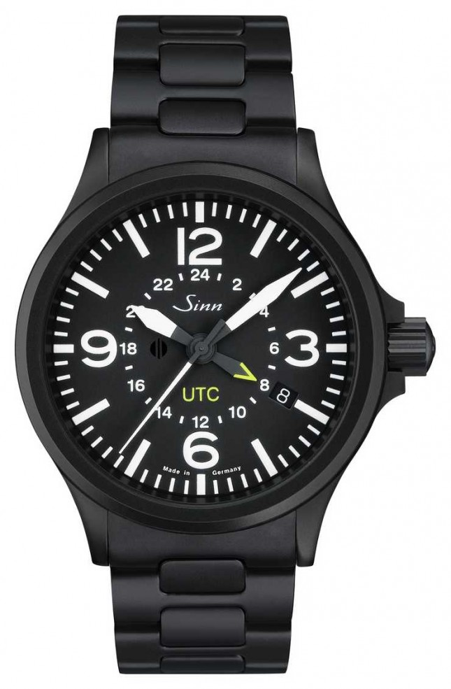 Sinn 856 S UTC The pilot watch with magnetic field protection and 856.020-BM8561202S
