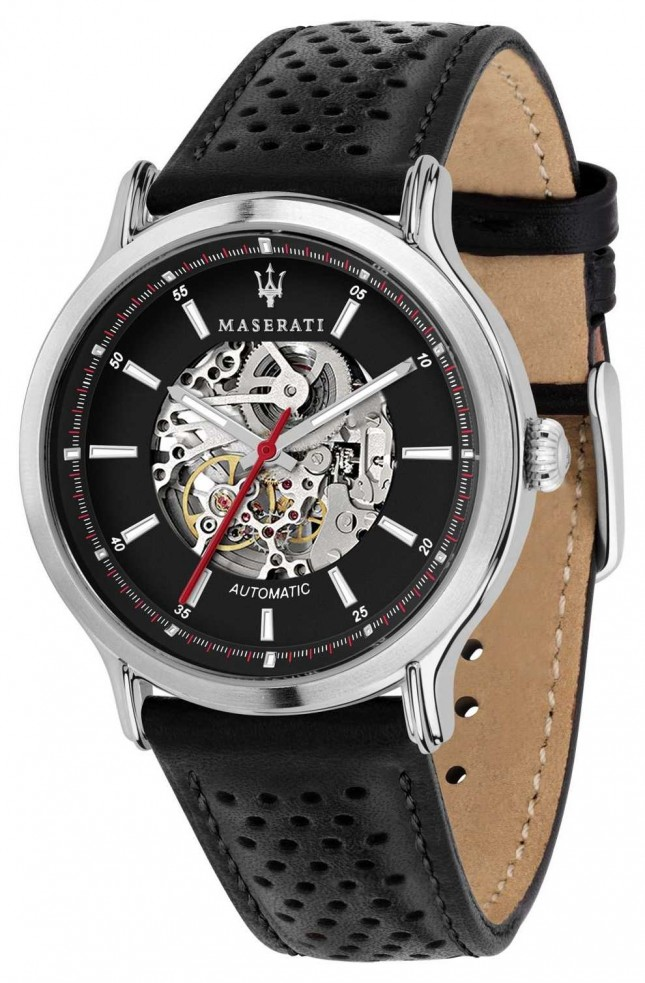 Maserati | Epoca Racing 42mm | Automatic | Black Leather Strap | R8821138001